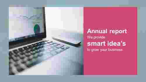Business annual report PPT